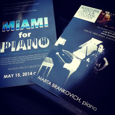 Miami of piano